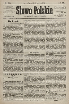 Słowo Polskie. 1901, nr271