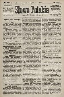 Słowo Polskie. 1901, nr284 (poranny)