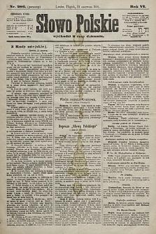 Słowo Polskie. 1901, nr286 (poranny)