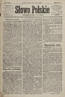 Słowo Polskie. 1901, nr291