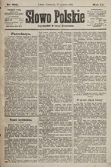 Słowo Polskie. 1901, nr295