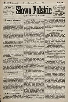 Słowo Polskie. 1901, nr296 (poranny)