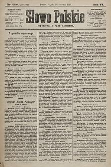 Słowo Polskie. 1901, nr298 (poranny)