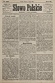 Słowo Polskie. 1901, nr308