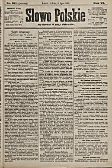 Słowo Polskie. 1901, nr311 (poranny)