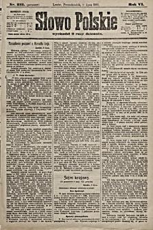 Słowo Polskie. 1901, nr313 (poranny)