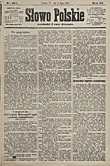Słowo Polskie. 1901, nr314