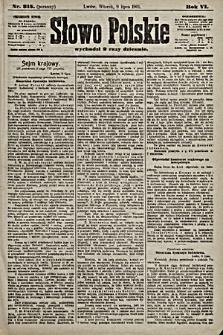 Słowo Polskie. 1901, nr315 (poranny)