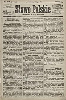 Słowo Polskie. 1901, nr317 (poranny)