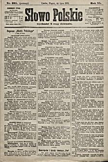 Słowo Polskie. 1901, nr321 (poranny)