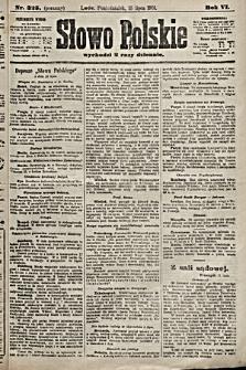 Słowo Polskie. 1901, nr325 (poranny)