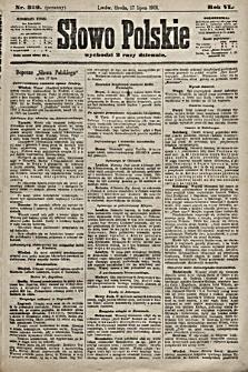 Słowo Polskie. 1901, nr329 (poranny)