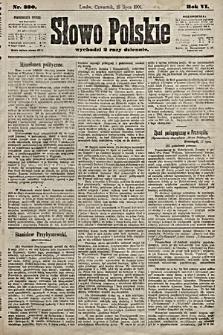 Słowo Polskie. 1901, nr330