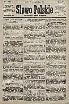 Słowo Polskie. 1901, nr331 (poranny)