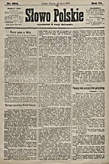 Słowo Polskie. 1901, nr334