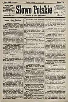 Słowo Polskie. 1901, nr335 (poranny)