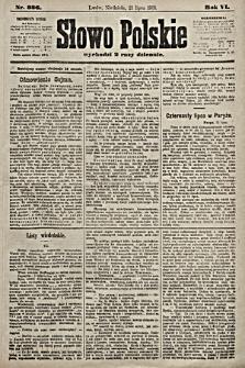 Słowo Polskie. 1901, nr336