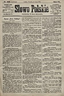Słowo Polskie. 1901, nr339 (poranny)