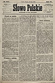 Słowo Polskie. 1901, nr344