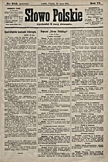 Słowo Polskie. 1901, nr345 (poranny)