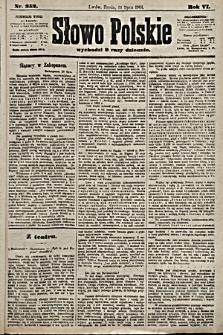Słowo Polskie. 1901, nr352