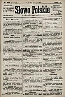 Słowo Polskie. 1901, nr357 (poranny)