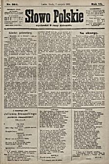 Słowo Polskie. 1901, nr364