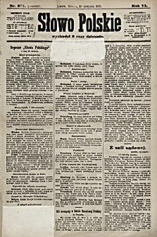 Słowo Polskie. 1901, nr371 (poranny)