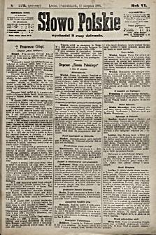Słowo Polskie. 1901, nr373 (poranny)