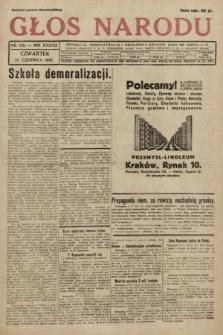 Głos Narodu. 1930, nr158