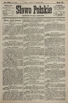 Słowo Polskie. 1901, nr382 (poranny)