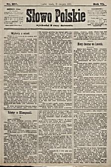 Słowo Polskie. 1901, nr387