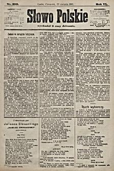 Słowo Polskie. 1901, nr389