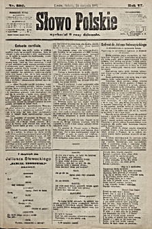 Słowo Polskie. 1901, nr393