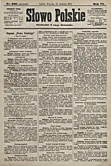 Słowo Polskie. 1901, nr398 (poranny)