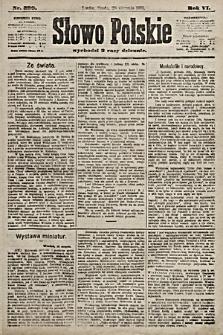 Słowo Polskie. 1901, nr399