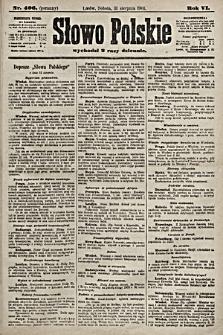 Słowo Polskie. 1901, nr406 (poranny)