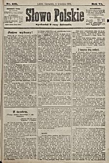 Słowo Polskie. 1901, nr413