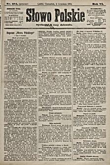 Słowo Polskie. 1901, nr414 (poranny)