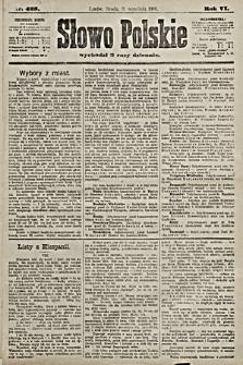 Słowo Polskie. 1901, nr423