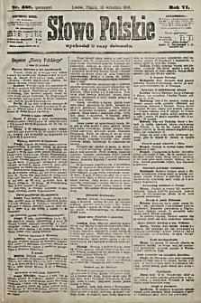 Słowo Polskie. 1901, nr428 (poranny)