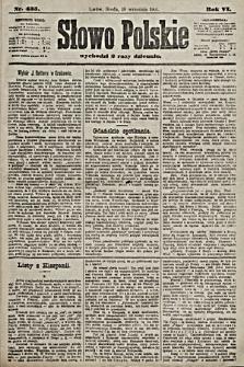 Słowo Polskie. 1901, nr435
