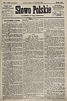 Słowo Polskie. 1901, nr440 (poranny)