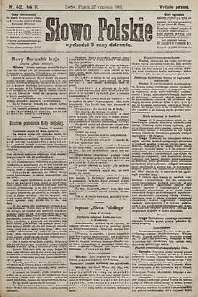 Słowo Polskie (wydanie poranne). 1901, nr452
