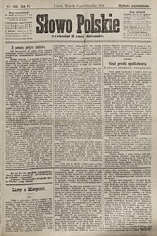 Słowo Polskie (wydanie popołudniowe). 1901, nr469