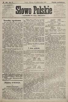 Słowo Polskie (wydanie popołudniowe). 1901, nr489