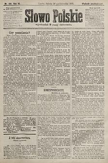 Słowo Polskie (wydanie popołudniowe). 1901, nr501