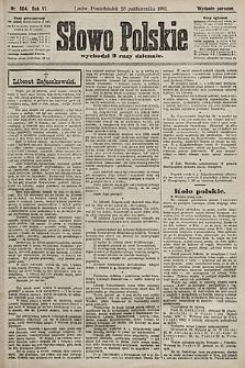Słowo Polskie (wydanie poranne). 1901, nr504