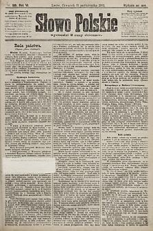 Słowo Polskie (wydanie poranne). 1901, nr510