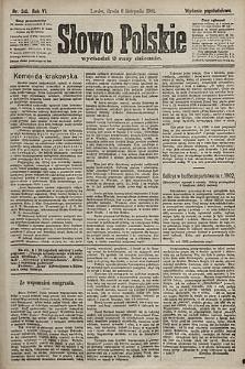 Słowo Polskie (wydanie popołudniowe). 1901, nr518